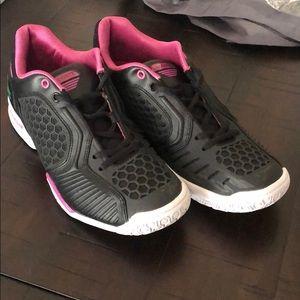 0801b8cd5 Women s Pink Lacoste Sneakers on Poshmark
